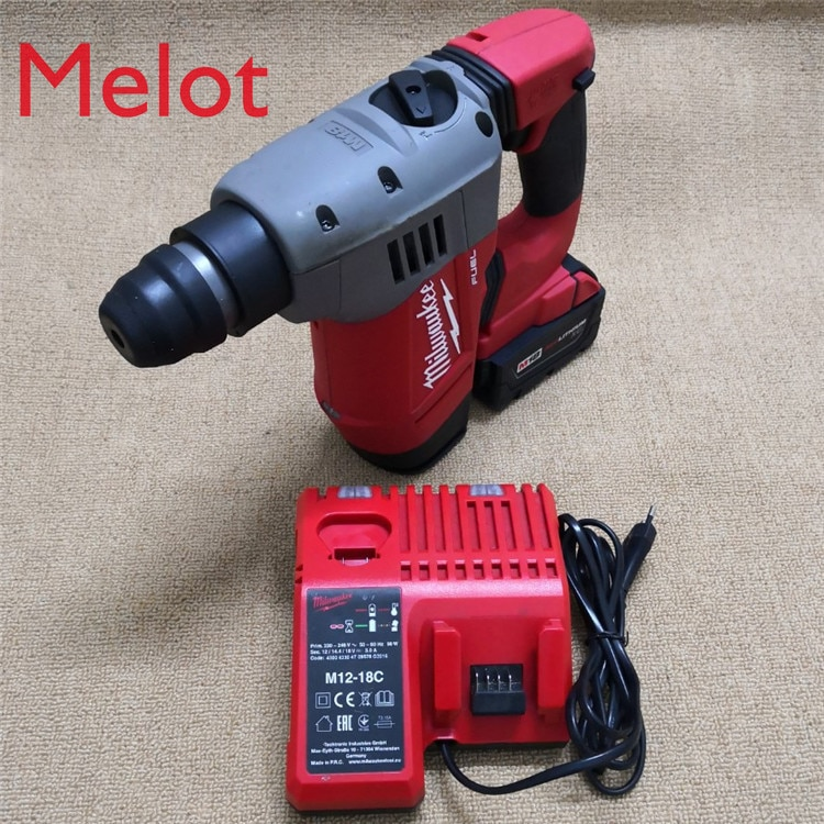 Mivoqi Imported Second-hand M18v Lithium Hammer Pool Brushless Flat Impact Electric Drill Screwdriver Batch Gun Wrench Moving enlarge