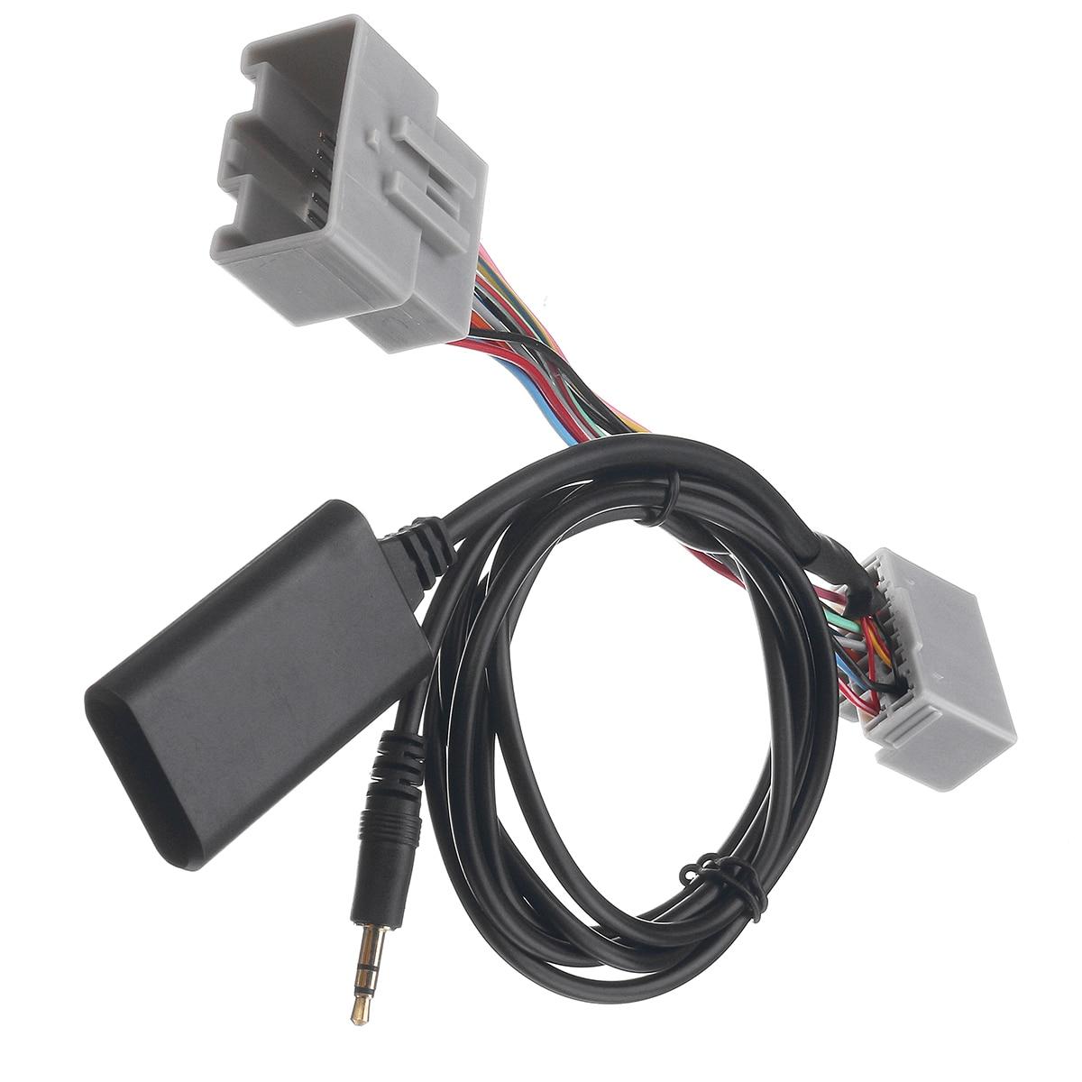 Adaptador bluetooth carro aux áudio rádio receptor cabo para volvo c s v xc 30 40 50 70 80 90