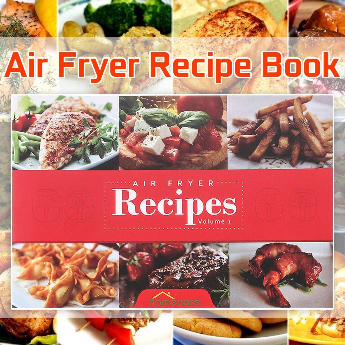 Farbe druck Air Friteuse Cookbook Air Friteuse Rezept Buch Rezept Buch Mit 15 Köstliche Mahlzeiten Englisch Sprache Kochbuch