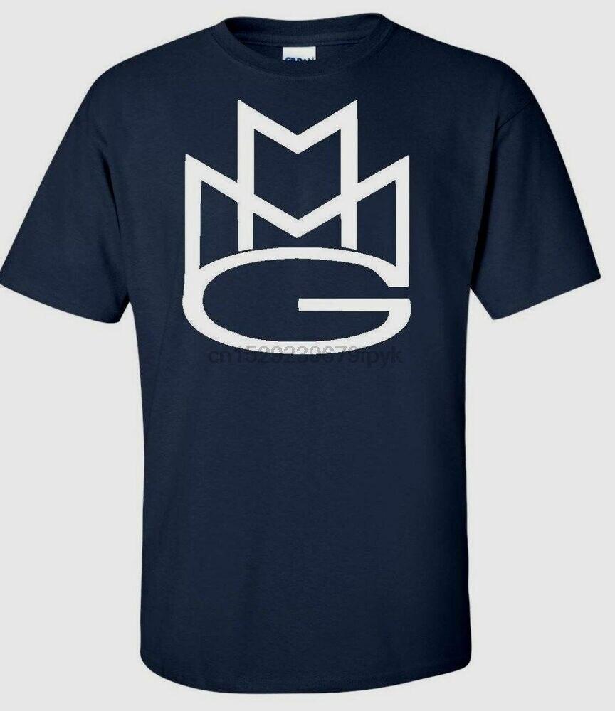 MAYBACH grupo de música MMG hombres camiseta Rick Ross Wale Meek molinos multicolor