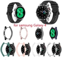 PC Hard Silicone Protective Case for Samsung Galaxy Watch 4 40mm 44mm Watch Cover for Samsung Galaxy Watch 4 46mm 42mm Shell