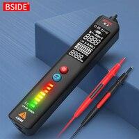 BSIDE X1/X2 детектор напряжения Тестовый er умный мультиметр Бесконтактный инфракрасный термометр EBTN дисплей живого провода тест карандаш метр