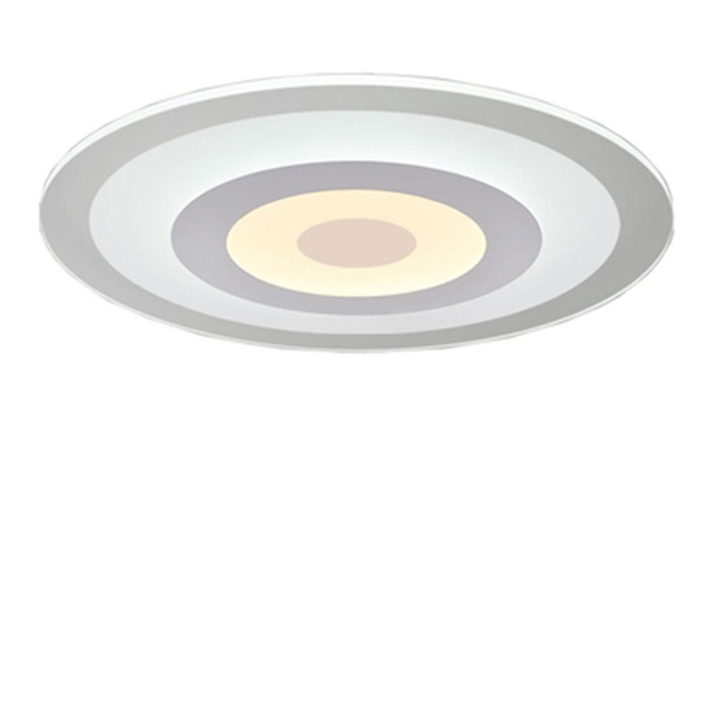Lámparas de araña Led modernas acrílicas para sala de estar dormitorio círculo techo interior lámpara led accesorios del lustre