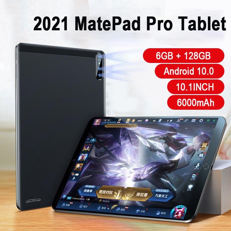 2021 MatePad Pro Tablette Android 10.0 10.1 Inch MT6788  6GB RAM 128GB ROM Tablet PC 6000 mAh 1920x1