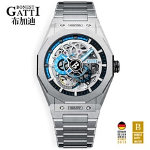 Men's Top Brand Watch For Men Automatic Mechanical Watches Stainless Steel Waterproof Luminous Wrist