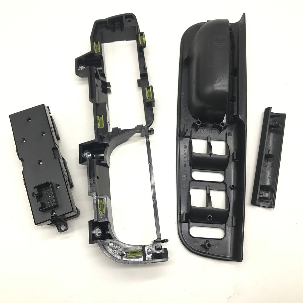 Master Window Control Switch + Interior Panel Bezel + Handle Trim+frame For Volkswagen VW Jetta  Passat B5 1998-2004