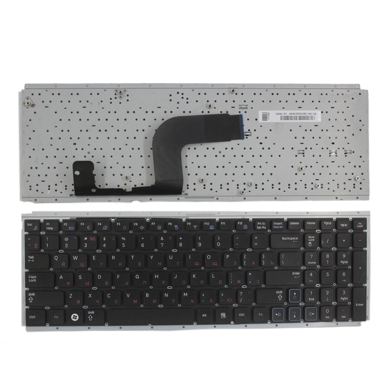 RUSSian laptop keyboard for Samsung RC510 RC512 RC520 RU laptop keyboard Black
