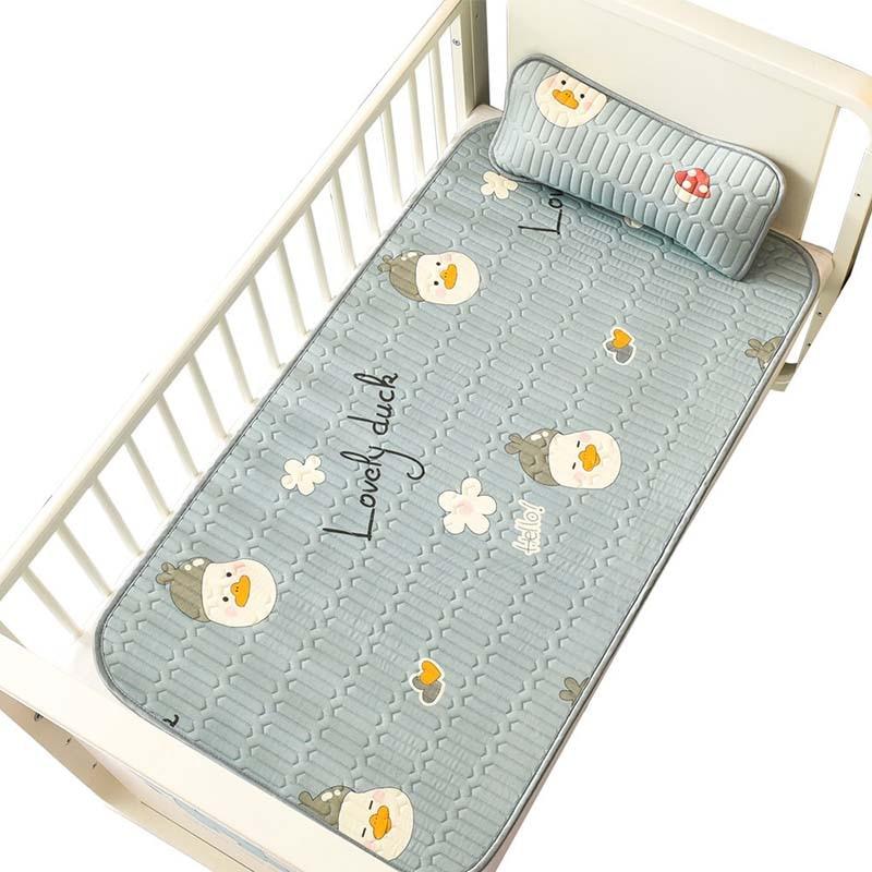 Матрас детский латексный, нескользящий, для детской кровати, дышащий, ощущение прохлады, подушка, Детские аксессуары, унисекс