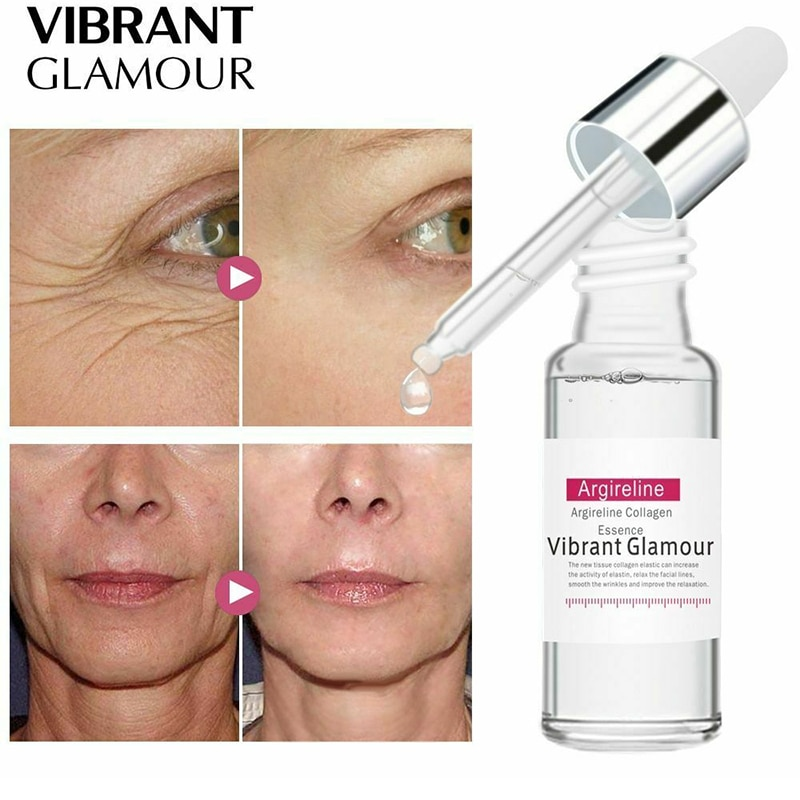 hexapeptide anti wrinkle essence liquid moisturizing skin care firming anti aging fine lines cosmetics skin care products Peptide Collagen Face Serum Anti Aging Moisturizing Hyaluronic Acid Facial Essence Firming Anti Wrinkle Fine Lines Skin Care