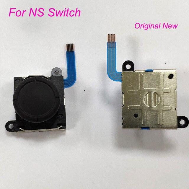 200 Uds. Originales para el controlador Joy-Con Nintend Switch NS, Joystick analógico 3D Original, piezas de repuesto para el sensor