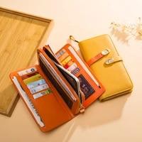 genuine leather designer wallet women wallet fashion money bag cell phone pocket ladies luxury long purse %d0%ba%d0%be%d1%88%d0%b5%d0%bb%d0%b5%d0%ba %d0%b6%d0%b5%d0%bd%d1%81%d0%ba%d0%b8%d0%b9