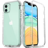 full body 360 front back phone case for iphone 12 11 pro max 8 7 6s plus cover transparent coque for iphone x xr xs 5s se 2020