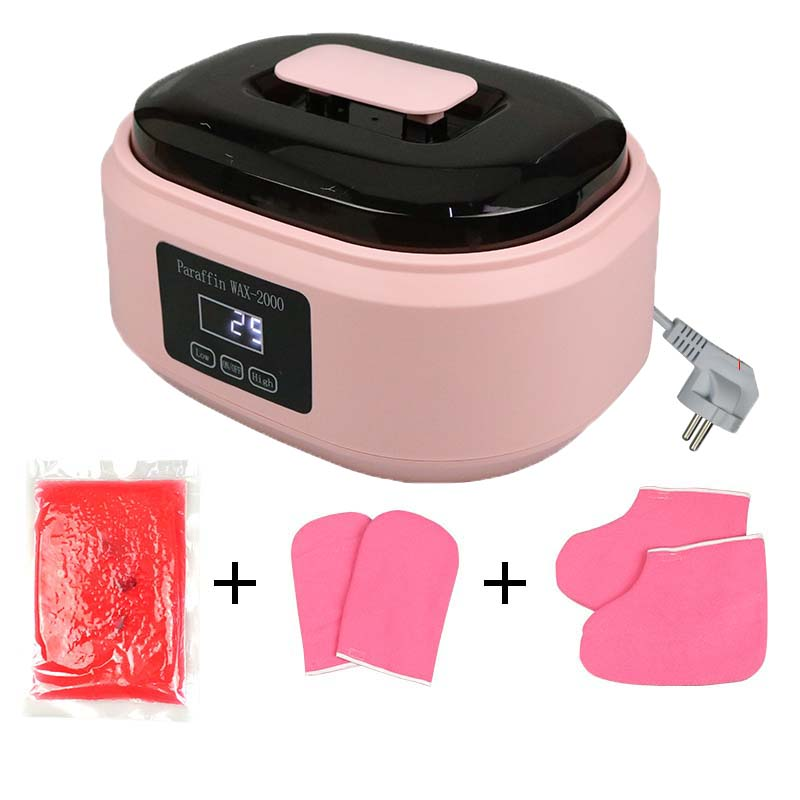200W Paraffin Wax Heater Therapy Bath Wax Pot Warmer for Hand Foot Beauty Salon Spa Wax Heater Machi