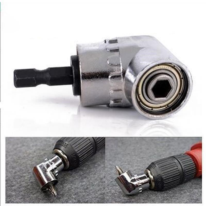 Zestaw wkrętaków kątowych 105 stopni klucz dynamometryczny adapter nasadowy do wierteł 1/4 cala sześciokątne gniazdo bitowe akcesoria do wiertarek elektrycznych narzędzie ręczne