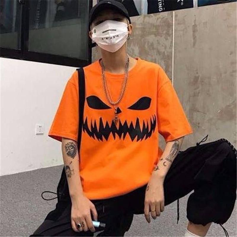Kurzarm T-Shirt Hip Hop T Shirts Casual Weihnachten T Shirts Lustige Sommer Harajuku Tees Korean Street Fashion T-shirt Männliche