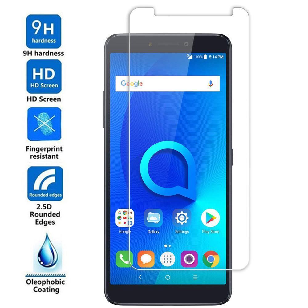 Tempered Glass Protective Film For Alcatel 3 3X 3V 3C 2019 Tetra 5052D 5052 5058i 5058 5099D 5099 5026 5026D Screen Protector