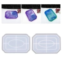 storage tray crystal epoxy resin mold plate dish silicone mould diy crafts tool 83xf
