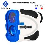 Golf Rangefinder Laser 600M 650M 690M Distance Meter Blue Monocular Range finder Jolt Vibrate for Hunt, Outdoors