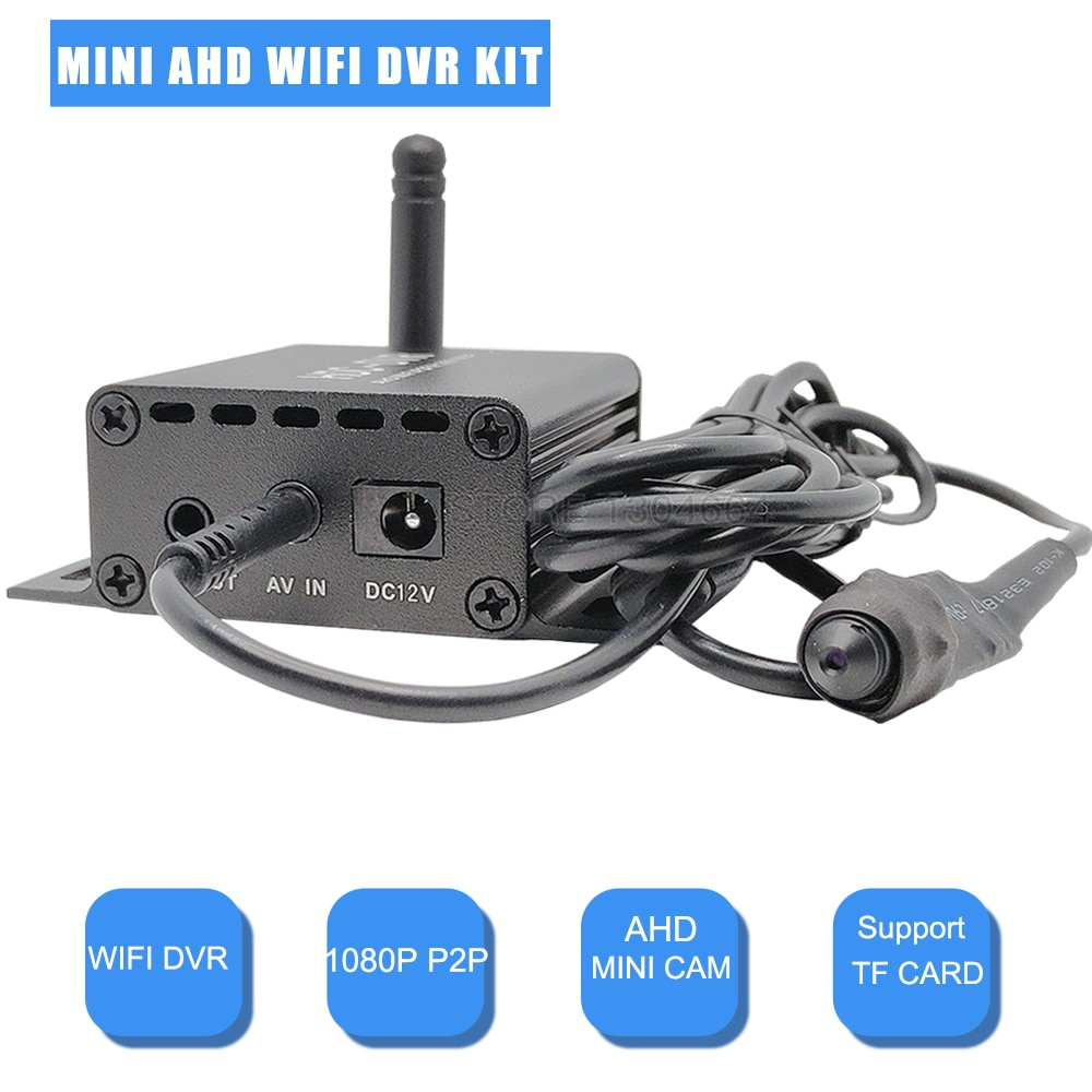 1CH 1080P Mini Wifi DVR With 1080P SONY 323 Mini Camera Kit AHD DVR Video Surveillance Recorder Onvif RTSP DVR For Indoor Home недорого