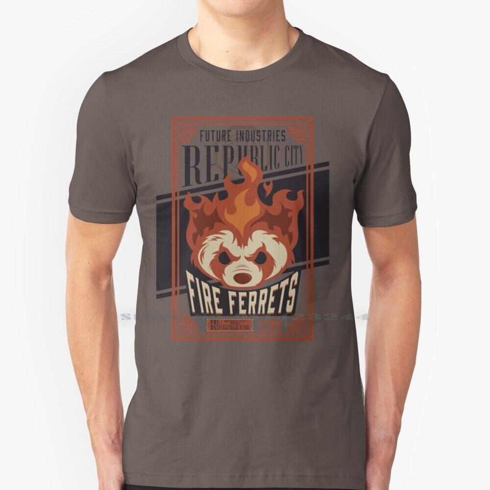 Camiseta de boxeo Vintage con diseño de hurones de fuego, camisa profesional...