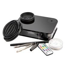 Portable Acrylic Hookah For Smoking With LED Light Water Pipe Shisha Hookah Sheesha Chicha Cachimba