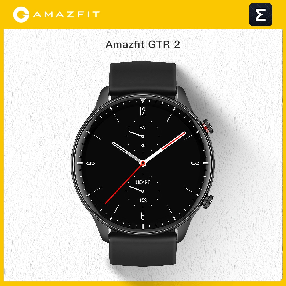 Review New Amazfit GTR 2 Smartwatch 14 Days Battery Life 5ATM Confident Time Control Sleep Monitoring Smart Watch For Android iOS Phone