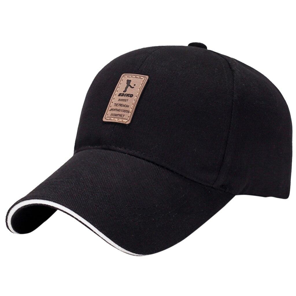 sharp visors Men Women Black Baseball Cap Snapback mens winter hat Hip-Hop Adjustable Bboy Caps knitted beanie with visor