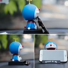 Cartoon schütteln kopf puppe auto dekoration blau fett auto ornamente Pokonyan puppe auto innen dekoration schöne auto zubehör geschenk