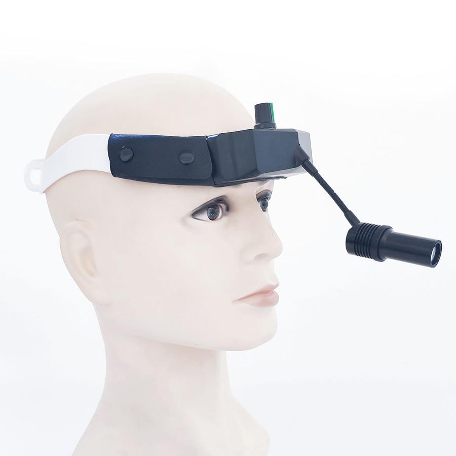 360° Adjustable LED Dental Light Surigal Headlight Dentistry Operation Helmet Lamp ENT Headlamp(TD-V03) enlarge