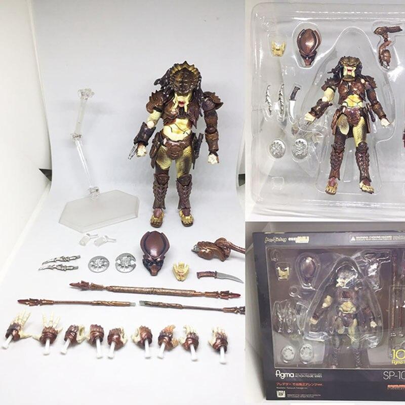 Figura de acción Alien VS Predator Figma SP-109, muñeco de juguete Predator...