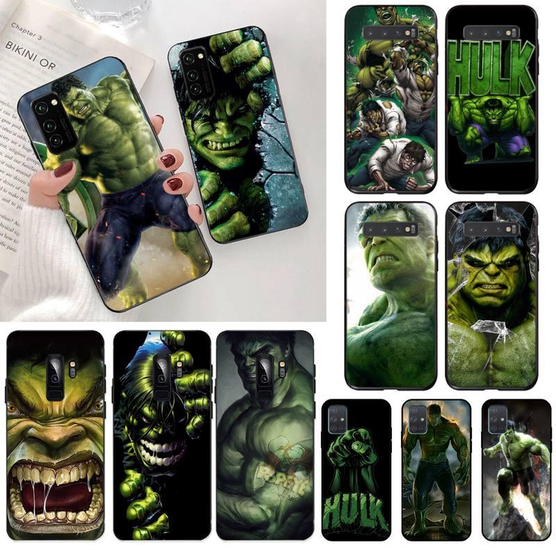 Marvel comics hulk gigantes robert bruce foto feita sob encomenda caso de telefone macio para samsung s20 plus ultra s6 s7 borda s8 s9 mais s10 5g