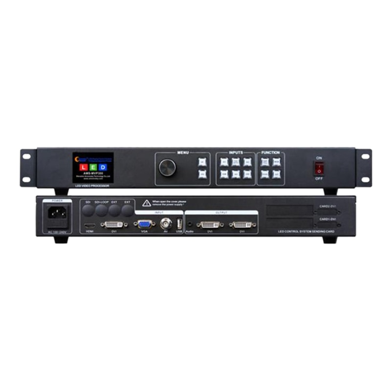 سلس اللون معالج فيديو ليد مع LED و Mvp300 أوسب كما كيستار Ks600 شاشة LED التحكم-الولايات المتحدة التوصيل