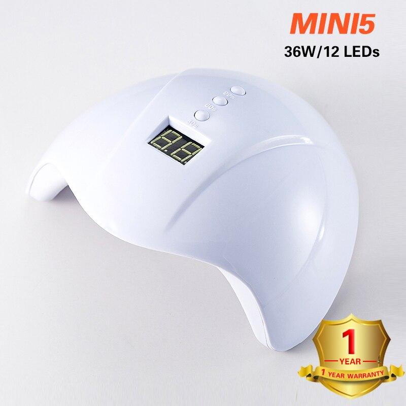 УФ-лампа для маникюра 36 Вт Светодиодный светильник для сушки ногтей солнцезащитный светильник для отверждения всех гель-лаков Сушка УФ-гель USB Смарт-инструменты для дизайна ногтей