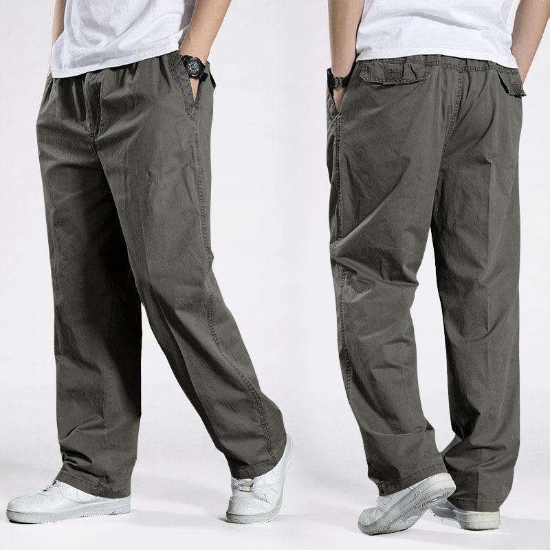Men Harem tactical Pants 2021 Sagging cotton pants men Trousers plus size sporting Pant Mens Joggers Casual pants 6XL