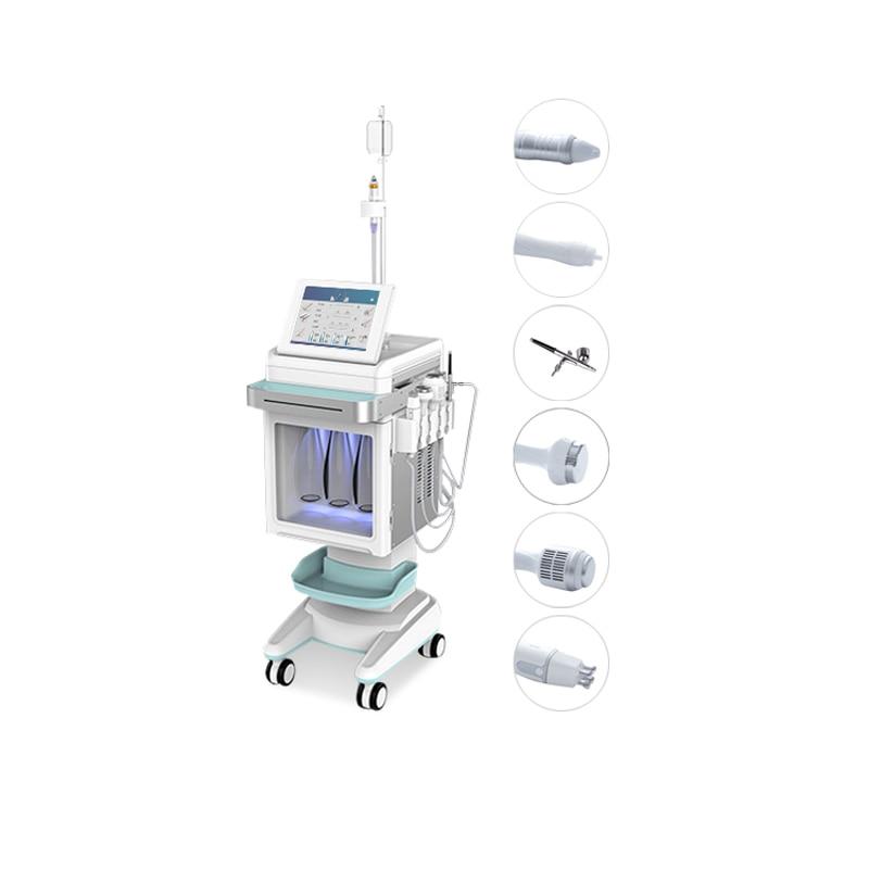 Máquina de microdermoabrasión hidráulica 6 en 1 para cuidado de la piel,...