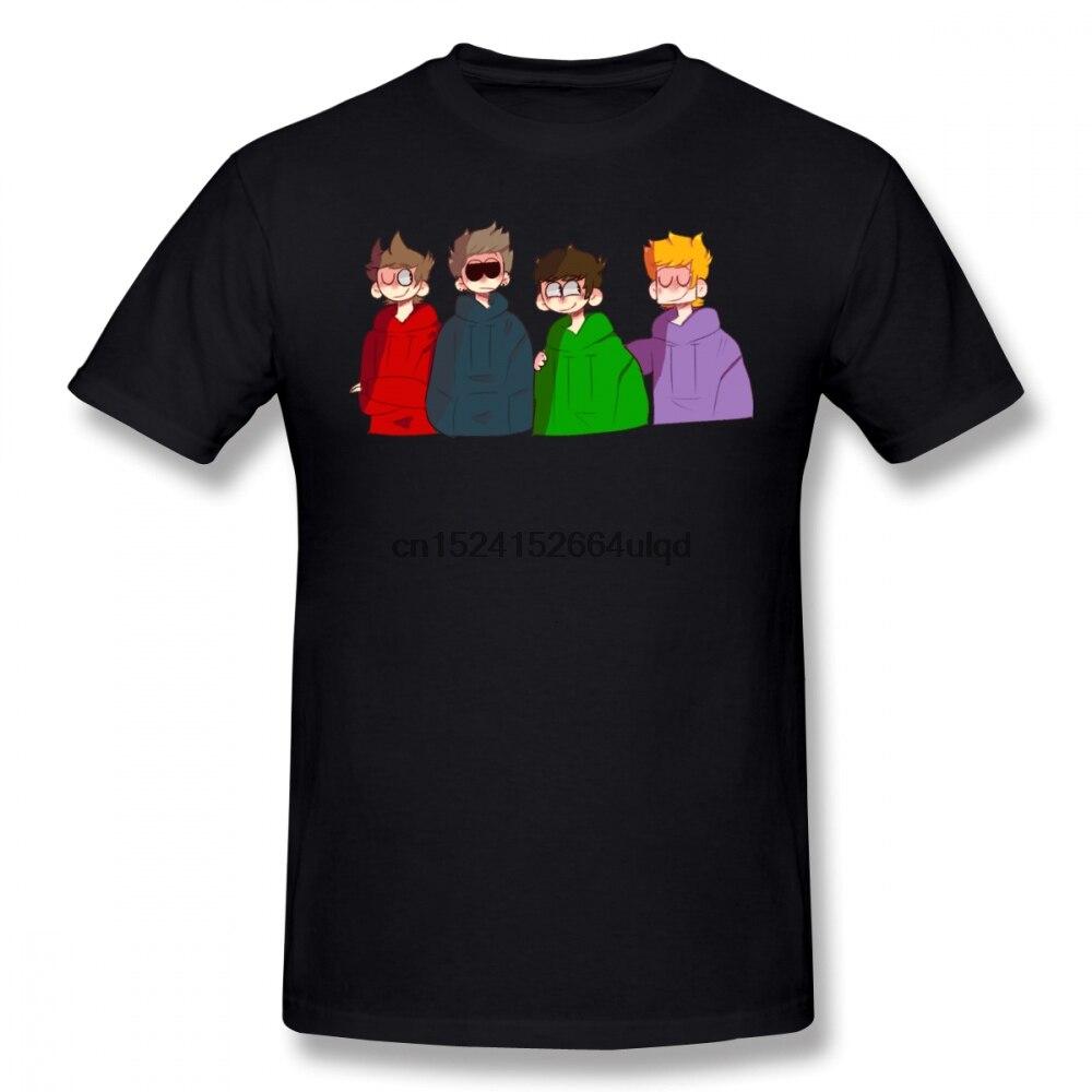 Camiseta de Eddsworld camiseta de Eddsworld para hombre Linda camiseta de moda de manga corta 4xl algodón impreso camiseta