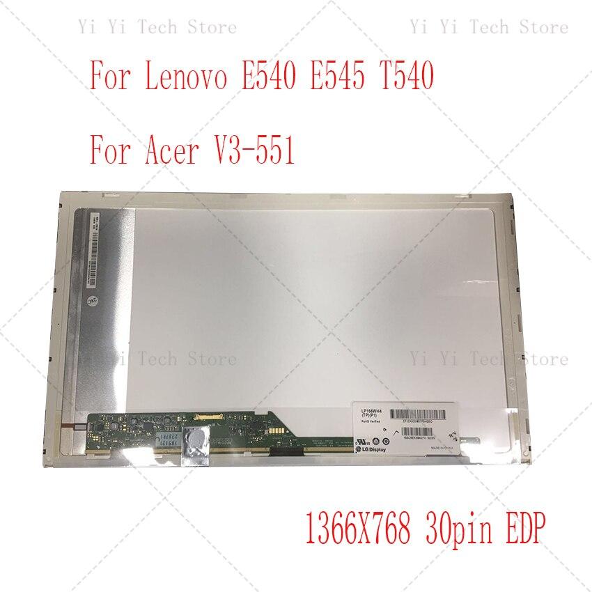 15.6 بوصة الكمبيوتر المحمول lcd شاشة مصفوفة B156XTN02.6 N156BGE-E11 LTN156AT08 LP156WH4-TPA1 B156XTN01.0 B156XW02 V.5 eDP