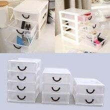 2/3/4 couches en plastique tiroir bureau stockage cosmétiques boîte Table maquillage organisateur conteneur pour maison salle de bains fournitures de bureau