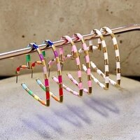 komi buy 2 get free contact us remark alloy heart earrings geometric ear jewelry for women girls casual party accessories d0331