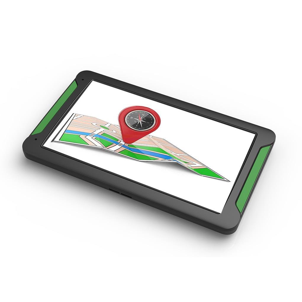 Pantalla táctil de 7 pulgadas 8GB 128RAM navegación GPS para coche 7 modelos navegador de voz Real + transmisión FM + mapas gratis