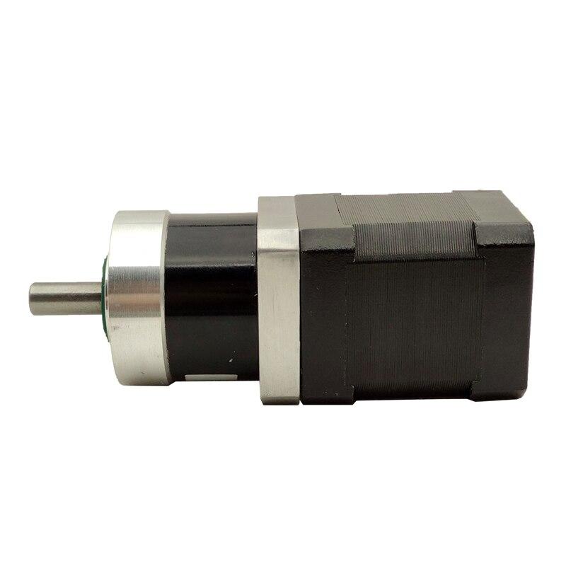 motor sem escova 24v da cc de 52w 42mm com relacao 41 da caixa de engrenagens planetaria
