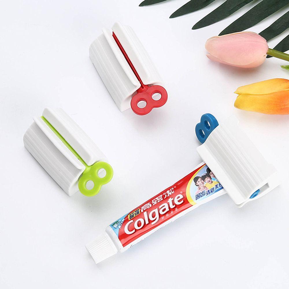 Многофункциональная отжимная трубка для зубной пасты, ручная отжимная зубная паста, прижимное средство для очищения лица, принадлежности для ванной комнаты