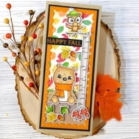 happy fall rectangle frame sets metal cutting dies for scrapbooking craft die cut card making embossing stencil 2020 new