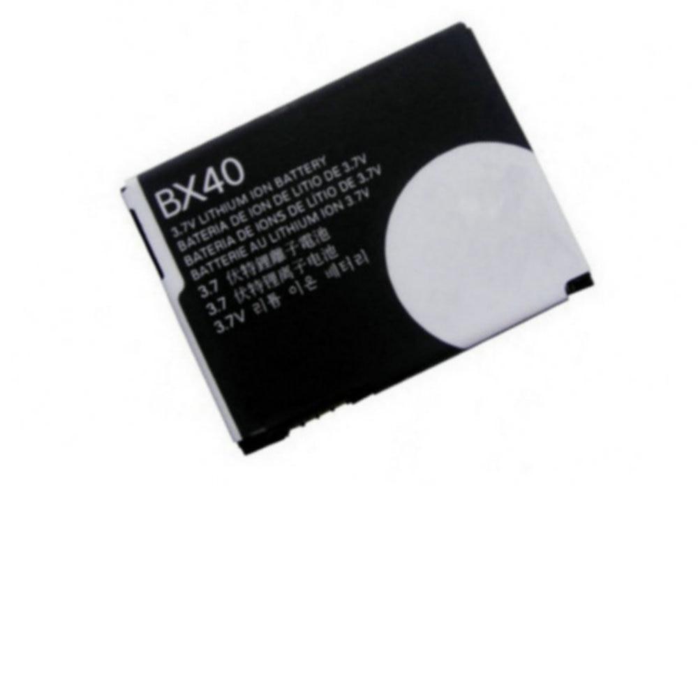Batería de repuesto de alta calidad para Motorola MOTO RAZR 2 RAZR2 V8 V9 V9M BX40, baterías para teléfono móvil