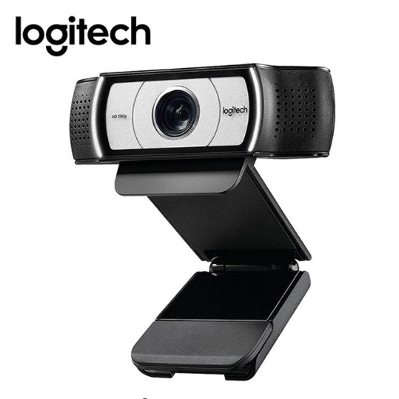 لوجيتك-كاميرا ويب ذكية C930C ، كاميرا ويب عالية الدقة 1080 بكسل مع غطاء ، عدسة زايس ، USB ، كاميرا فيديو 4 مرات ، تقريب رقمي