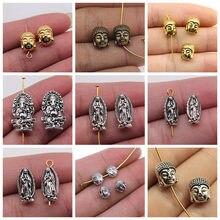 Gros bijoux Lots animaux petits trous perles perles bijoux faits à la main artisanat fournitures 15 pièces