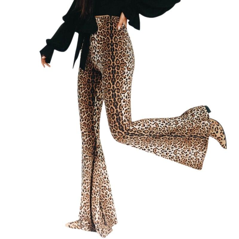 ¡Pantalones anchos de Mujer pierna alta cintura campana inferior Floral patrón deportivo...