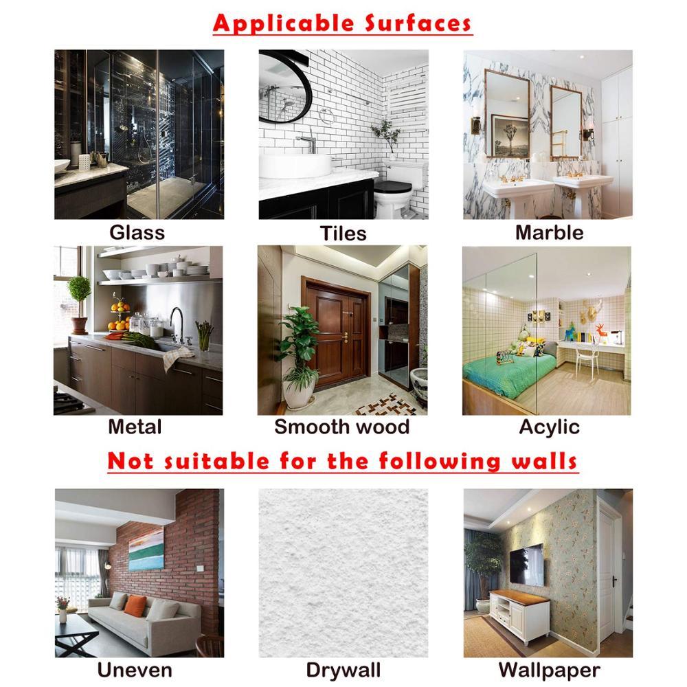20 vnt skaidrūs sieniniai kabliukai neperšlampami aliejumi, lipni - Organizavimas ir saugojimas namuose - Nuotrauka 5