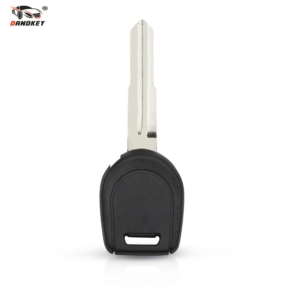 Dandkey New Transponder Key Shell for MITSUBISHI Colt Outlander Mirage Pajero Remote Key No Chip Right Blade