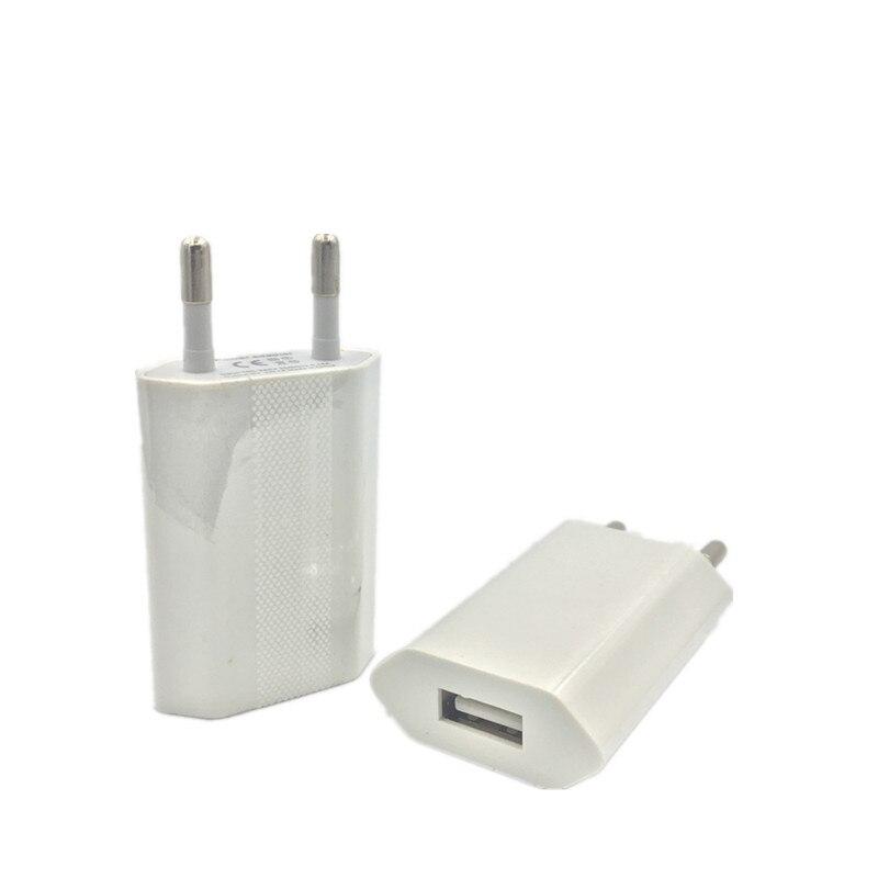 USB Carregador de Parede EU Plug Travel Home AC Adaptador Do Carregador Do Telefone Móvel para o iphone 5S 7 6 s Plus para Samsung S5 S6 S7